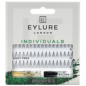Eylure Pro-Lash Individual False Lashes - Ultra Black Combo - Adhesive Included