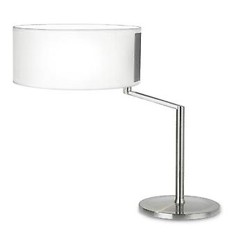 Leds-C4 Twist - 1 Light Table Lamp Satin Nickel, E27
