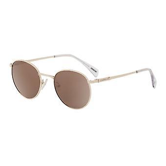 Dirty Dog Sneak Polarised Sunglasses (gold/brown)