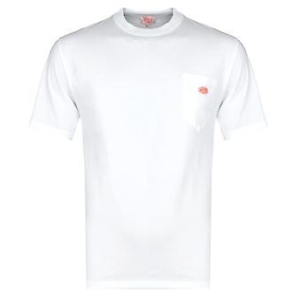 T-shirt blanc Armor Lux Avec Poche