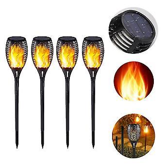 solar lys flamme lys - dans flamme, utendørs, vanntett, hage fakkel