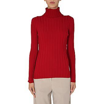 Aspesi 3978504401293 Mulheres'Suéter de Lã Vermelha