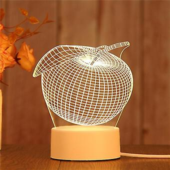 3d Led Night Light- Novelty Table Lamp