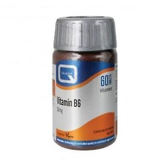Quest - Vitamin B6 & Parsley Leaf 50mg Tablets 60s