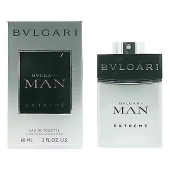 Bvlgari Man Extreme Eau de Toilette 60ml Spray