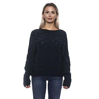 Women's Alpha Studio Blue Sweater
