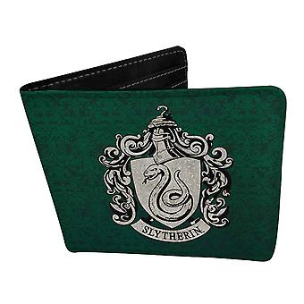 Harry Potter Wallet Slytherin Logo new Official Green Bifold