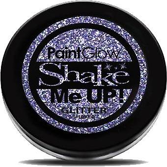 PaintGlow holographische Glitter Shaker - violett - 5g