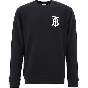 Burberry 8024602a1189 Männer's schwarz Baumwolle Sweatshirt
