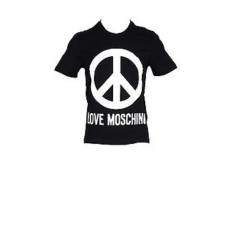 Amour moschino peace logo hommes t-shirt