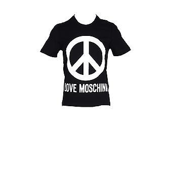 Love moschino camiseta de hombre con logotipo de paz