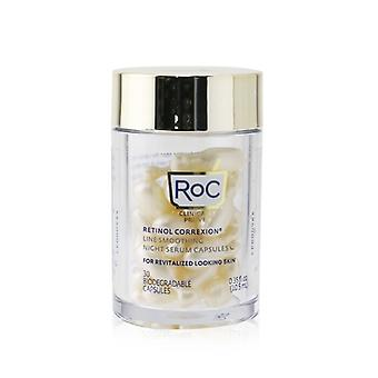 ROC Retinol Correxion Line Smoothing Night Serum Capsules 30Capsules