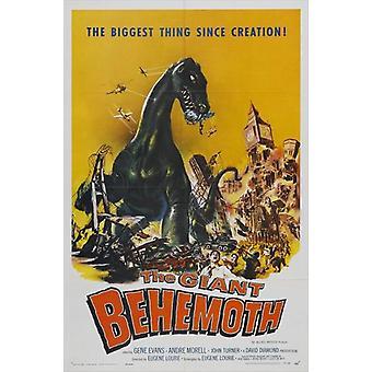 Behemoth meri hirviö elokuvajuliste (11 x 17)
