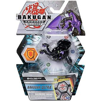 Deluxe Bakugan Ultra 1 Pack 3 Inch Figure Darkus Nillious Ultra