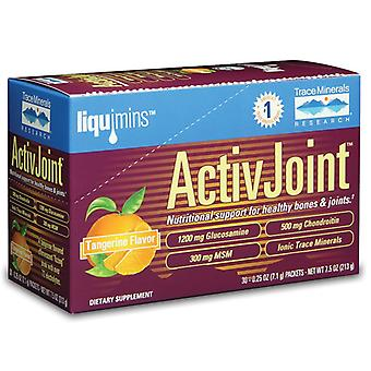Trace Minerals ActiveJoint Tangerine 30 packets
