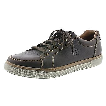 Rieker 17901-25 Rex Mens Smart Casual Lace-up Sneakers In Brown