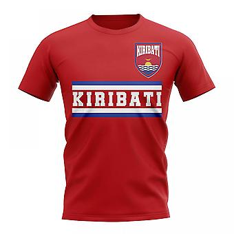Kiribati Core Football Country T-Shirt (Red)
