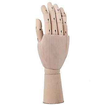 Wooden Artist Articulated Right Hand Mannequin Gift Art Model 290 x 80mm