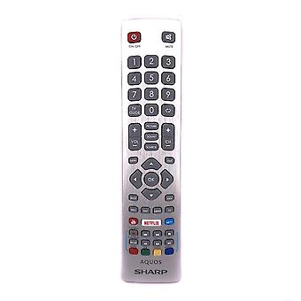 Genuine SHW/RMC/0115 Per Sharp Aquos TV Remote Control con Netflix