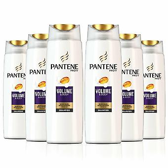 Pantene Pro-V Sheer Shampoo voor Instant Volume, Pack van 6, 500ml