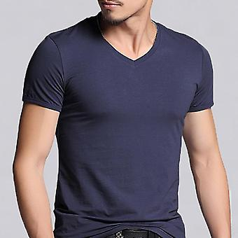 Short Sleeve Cotton Fitness T-shirts