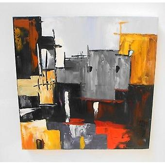 Stylish Modern High Quality Wall Art Oil Painting Canvas 50 X 50 cm 0652A