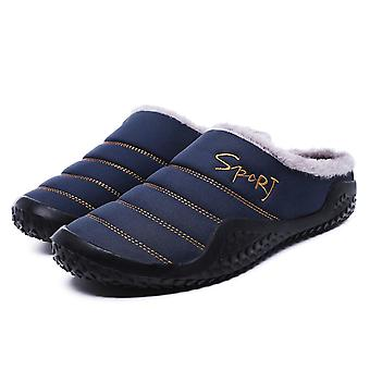 Men's Winter Soft Home Slippers Cotton Shoe.