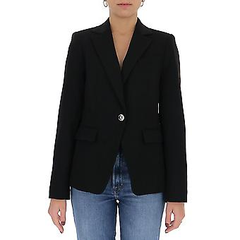 Michael By Michael Kors Mu01eyvenx001 Women's Black Acetate Blazer