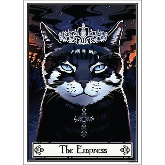 Deadly Tarot The Empress Felis Poster