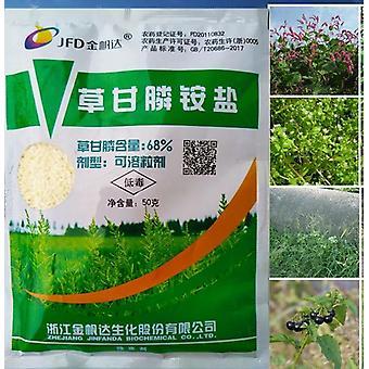 Burina tráva pesticídy, smerové stonky a leaf spray buriny zabijak