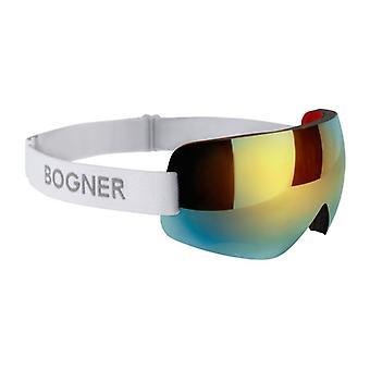 Bogner Snow Shades Kulta/Valkoinen Hiihtomaski