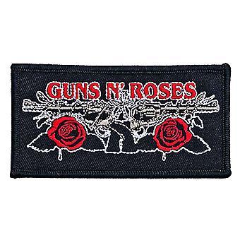 Guns N Roses Patch Vintage Pistols Band Logo new Official Black