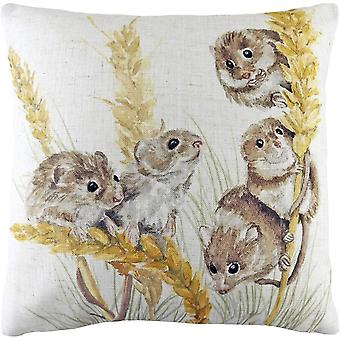 Evans Lichfield Woodland Field Mouse Cushion Cover
