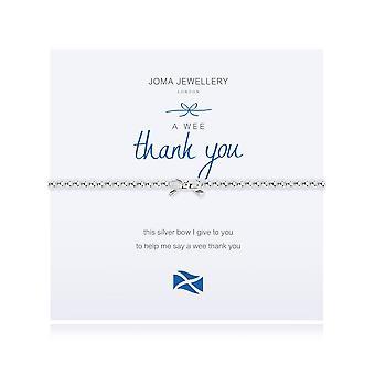 Joma Jewellery A Wee Thank You Bracelet 1509