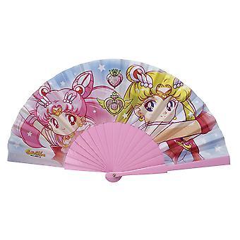 "Sailor Moon - Fan ""Sailor Moon & Chibi moon"""