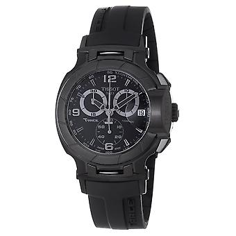 Tissot Hombres's T-Race Reloj de marcación negra - T0484173705700