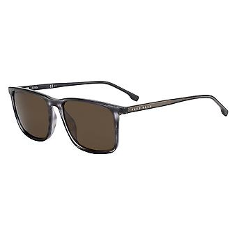 Hugo Boss 1046/S 2W8/70 Grey Horn/Brown Sunglasses