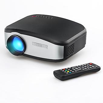 Cheerlux C6 näyttö projektorilla LED 1200:1 800x480 Tuki 720p 1080p Kotiteatteri Projektori