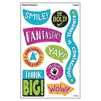 Color Harmony Paint It Positive Supershapes Stickers - Grand, 72 Comte