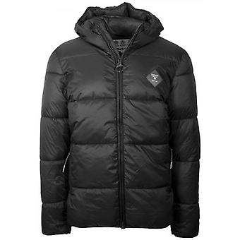 Barbour Beacon Black Ross Quilted Puffer Jacket