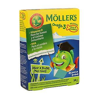 Möller's Gummies Omega 3 45 units