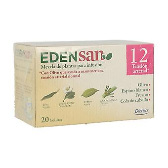 Edensan 12 Hip Infusions 20 infusion bags