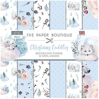 The Paper Boutique - Christmas Cuddles Collection - 8x8 Paper Pad