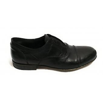 Shoes Men's Yox Nicola Barbato Francesina Artisan Scamiciata Dipped Black Us18nb13