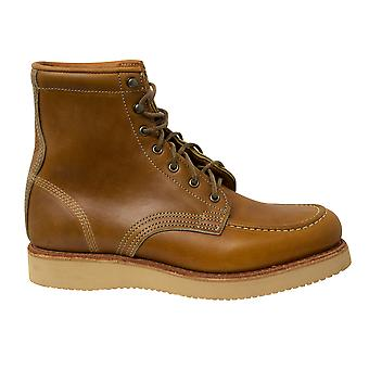 تيمبرلاند الأمريكية كرافت موك إلىو براون الجلود الدانتيل حتى الرجال الأحذية A1S52