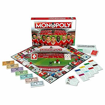 Monopoly liverpool fc football edition board game