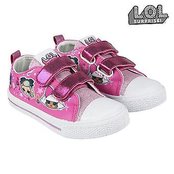 Children's casual trainers lol surprise! pink straps