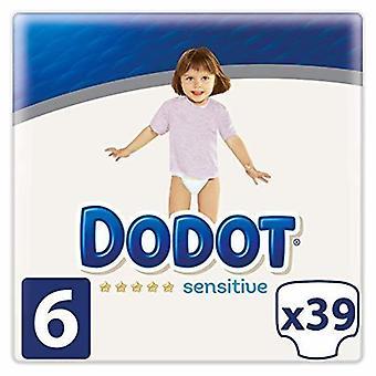 Dodot Sensitive Pañales Talla 6 39 uds