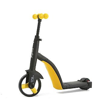 دراجة ثلاثية العجلات سكوتر للأطفال، سيارة سكوتر بيبي متعددة الوظائف في الهواء الطلق
