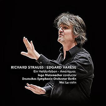 Strauss/Deutsches Symphony Orchestra Berlin - Ein Heldenleben & Ameriques [CD] USA import